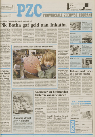Provinciale Zeeuwse Courant 1991-07-22
