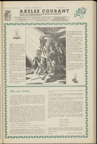 Axelsche Courant 1957-12-24