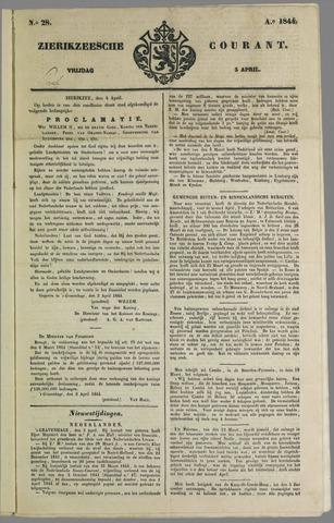 Zierikzeesche Courant 1844-04-05