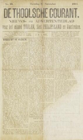 Ierseksche en Thoolsche Courant 1884-11-08