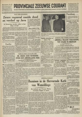 Provinciale Zeeuwse Courant 1952-01-24