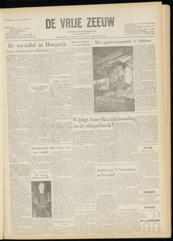 de Vrije Zeeuw 1956-11-22