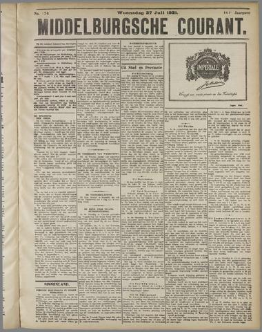 Middelburgsche Courant 1921-07-27