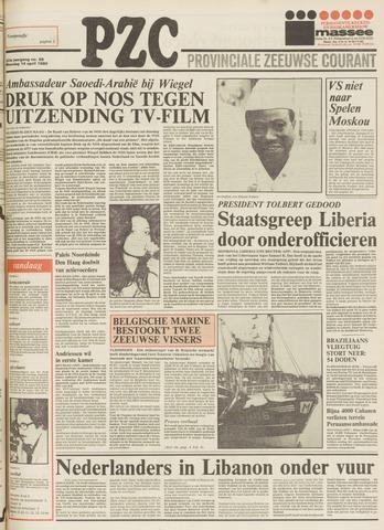 Provinciale Zeeuwse Courant 1980-04-14