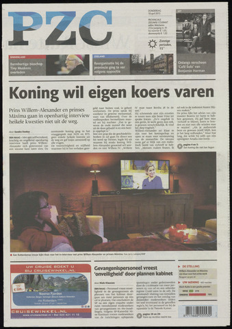 Provinciale Zeeuwse Courant 2013-04-18