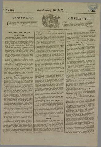 Goessche Courant 1845-07-10