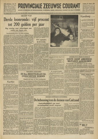 Provinciale Zeeuwse Courant 1951-03-23