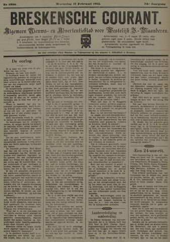 Breskensche Courant 1915-02-17