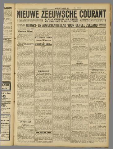 Nieuwe Zeeuwsche Courant 1929-01-12