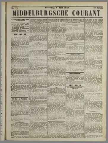 Middelburgsche Courant 1919-05-03