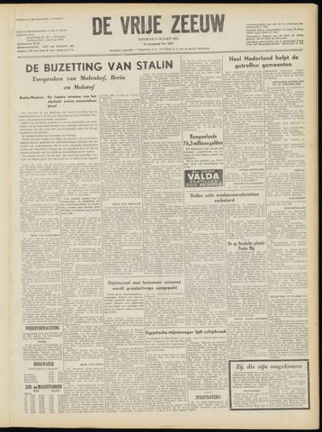 de Vrije Zeeuw 1953-03-10