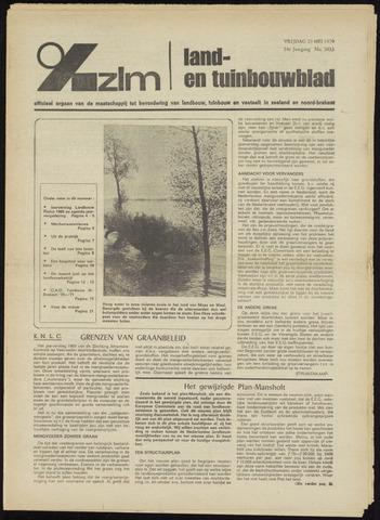 Zeeuwsch landbouwblad ... ZLM land- en tuinbouwblad 1970-05-27