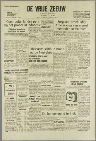 de Vrije Zeeuw 1966-02-12