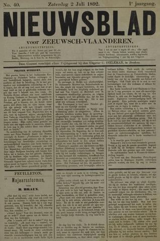 Nieuwsblad voor Zeeuwsch-Vlaanderen 1892-07-02