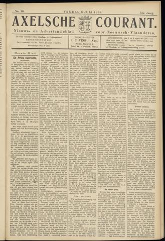 Axelsche Courant 1934-07-06