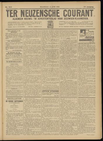 Ter Neuzensche Courant. Algemeen Nieuws- en Advertentieblad voor Zeeuwsch-Vlaanderen / Neuzensche Courant ... (idem) / (Algemeen) nieuws en advertentieblad voor Zeeuwsch-Vlaanderen 1932-06-13
