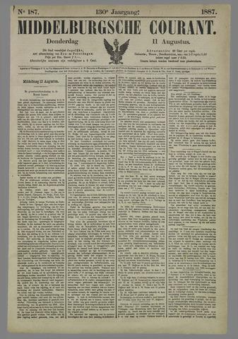 Middelburgsche Courant 1887-08-11