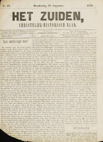 Het Zuiden, Christelijk-historisch blad 1876-08-31