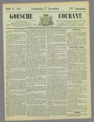 Goessche Courant 1891-12-17