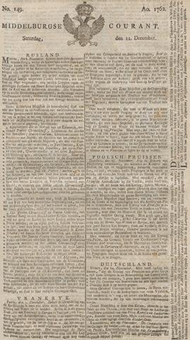 Middelburgsche Courant 1762-12-11