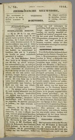 Zierikzeesche Nieuwsbode 1844-10-30