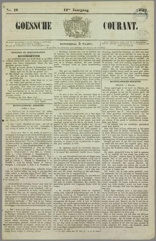 Goessche Courant 1857-03-05