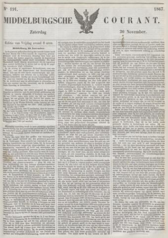 Middelburgsche Courant 1867-11-30