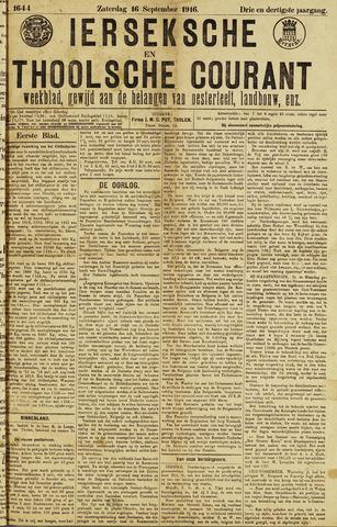 Ierseksche en Thoolsche Courant 1916-09-16