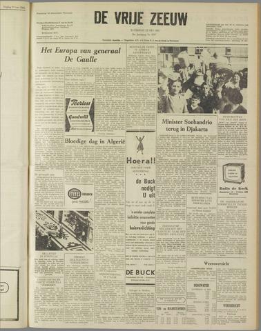 de Vrije Zeeuw 1962-05-12