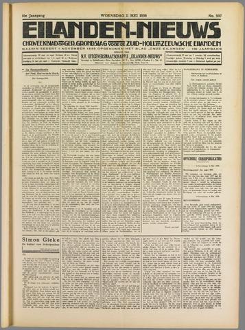 Eilanden-nieuws. Christelijk streekblad op gereformeerde grondslag 1938-05-11