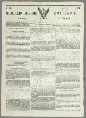 Middelburgsche Courant 1861-02-23