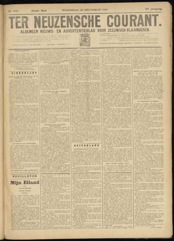 Ter Neuzensche Courant. Algemeen Nieuws- en Advertentieblad voor Zeeuwsch-Vlaanderen / Neuzensche Courant ... (idem) / (Algemeen) nieuws en advertentieblad voor Zeeuwsch-Vlaanderen 1933-12-20
