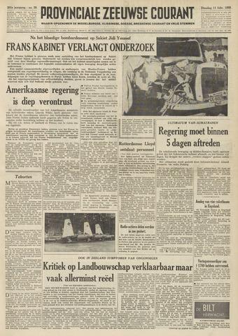 Provinciale Zeeuwse Courant 1958-02-11