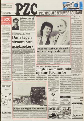 Provinciale Zeeuwse Courant 1987-03-21