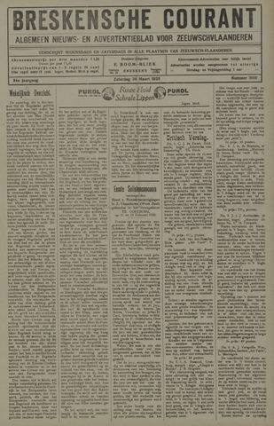 Breskensche Courant 1925-03-28