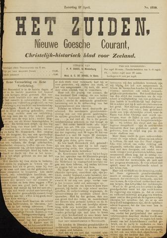 Het Zuiden, Christelijk-historisch blad 1886-04-17