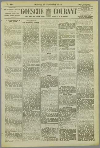 Goessche Courant 1919-09-30