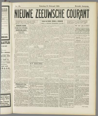 Nieuwe Zeeuwsche Courant 1911-02-25