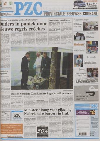 Provinciale Zeeuwse Courant 2004-09-25