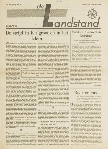 De landstand in Zeeland, geïllustreerd weekblad. 1943-01-29