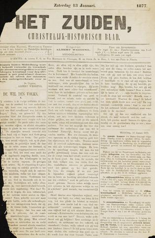 Het Zuiden, Christelijk-historisch blad 1877-01-13