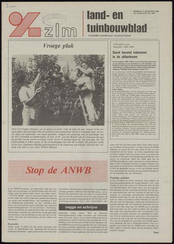 Zeeuwsch landbouwblad ... ZLM land- en tuinbouwblad 1990-08-31
