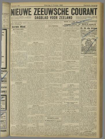 Nieuwe Zeeuwsche Courant 1920-10-09