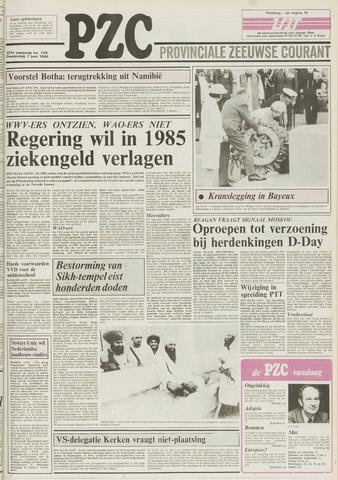 Provinciale Zeeuwse Courant 1984-06-07