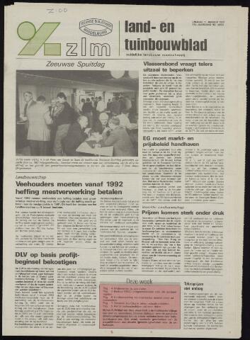 Zeeuwsch landbouwblad ... ZLM land- en tuinbouwblad 1991-01-11