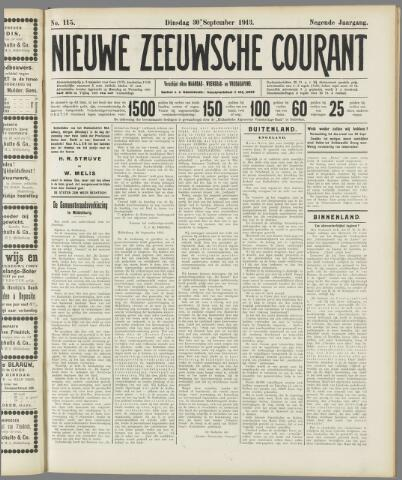 Nieuwe Zeeuwsche Courant 1913-09-30