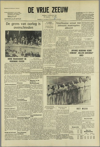 de Vrije Zeeuw 1964-08-07
