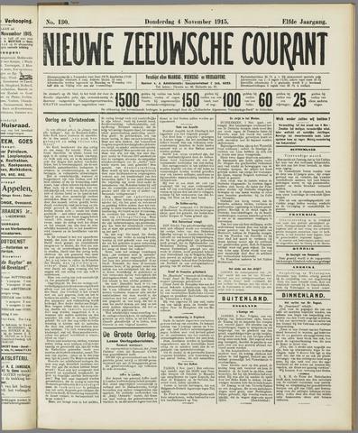 Nieuwe Zeeuwsche Courant 1915-11-04