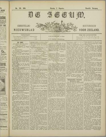 De Zeeuw. Christelijk-historisch nieuwsblad voor Zeeland 1898-08-02
