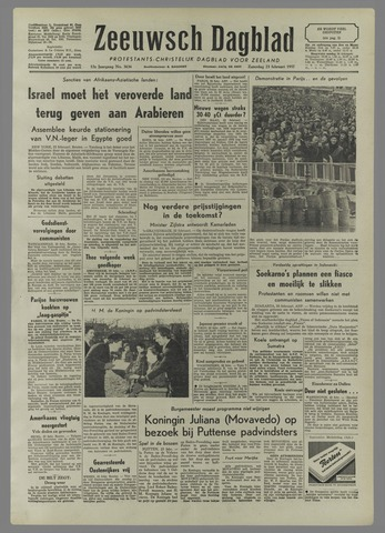Zeeuwsch Dagblad 1957-02-23